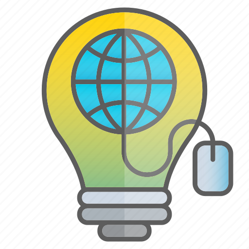 business, creativity, idea, intelligence, internet, knowledge, science icon