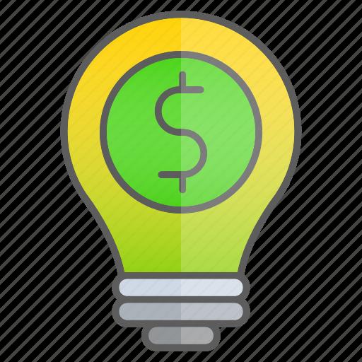 business, creativity, finance, idea, intelligence, knowledge, money icon