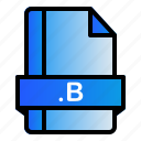 b, extension, file, format