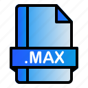 extension, file, format, max