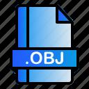 extension, file, format, obj