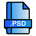 extension, file, format, psd