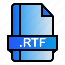 extension, file, format, rtf