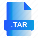 extension, file, format, tar icon