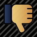 bad, reputation, shop, store icon
