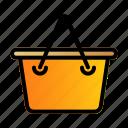 basket, buying, cart, trolley