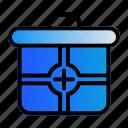 aid, box, healthy, medical icon