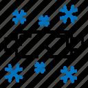 snow, snowboard, snowglasses, winter icon