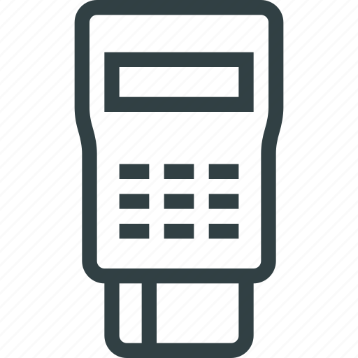 card, mobile, payment, terminal icon