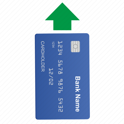 arrow, card, credit, move icon