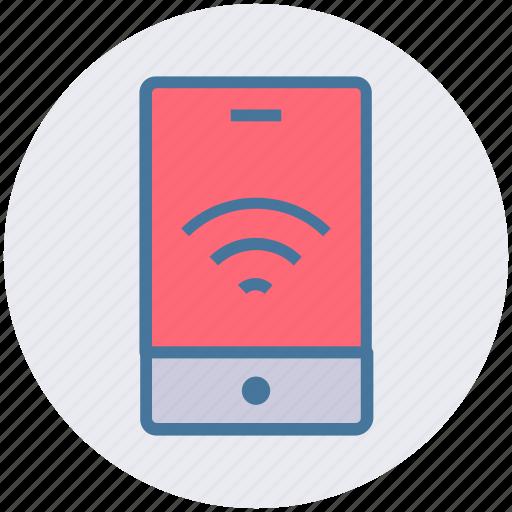 app, mobile, signals, smartphone, wifi, wifi mobile icon