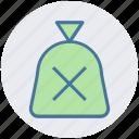 cash, cash bag, money, pay, payment, sack of money icon