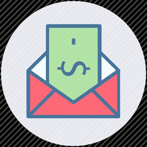 email, envelope, letter, letter envelope, message, post icon