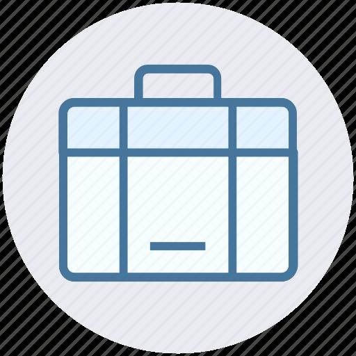 bag, case, hand bag, money bag, office bag, suit case icon