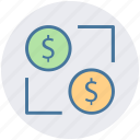 affiliate, affiliate marketing, business, dollar network, finance, investment affiliate icon