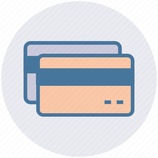 atm card, bank card, credit card, debit card, payment card, plastic card icon