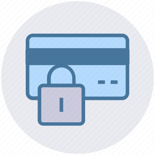 Credit card lock, lock, password, payment, secure payment, security icon - Download on Iconfinder
