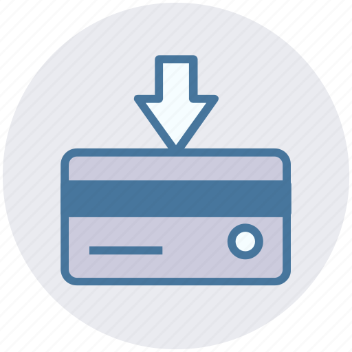 atm card, credit card, debit card, payment card, plastic card icon