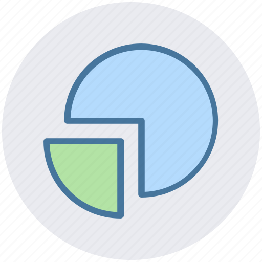 analytics, chart, diagram, graph, pie, pie chart icon