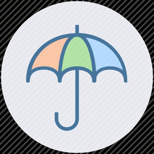 protection, rain umbrella, safe, security, umbrella icon