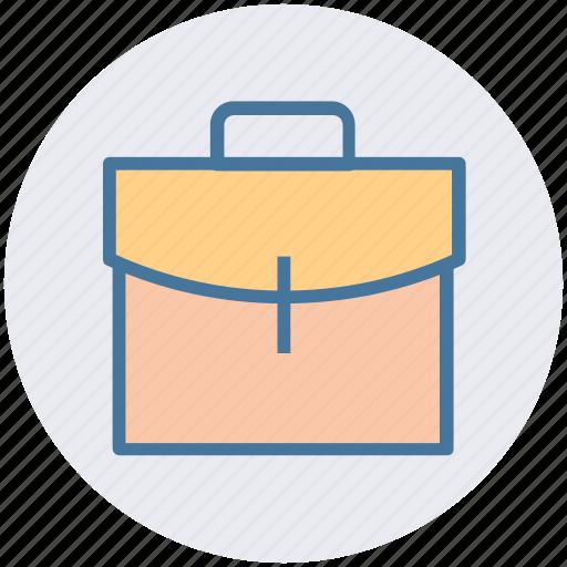 Office bag, bag, school bag, dollar bag, cash bag icon
