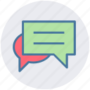 chat, conversion, messages, sms, text icon