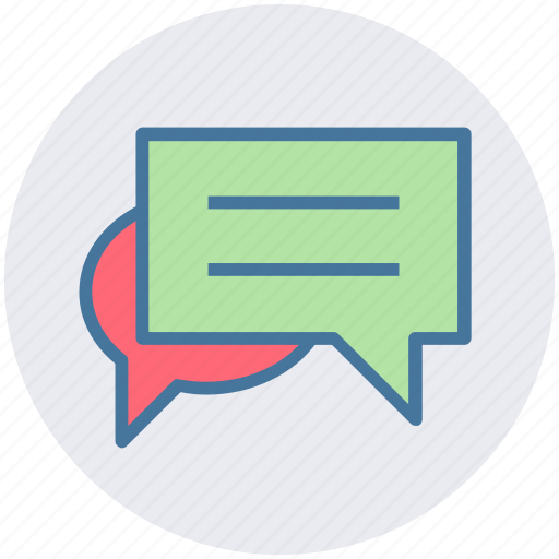 Messages, conversion, sms, chat, text icon