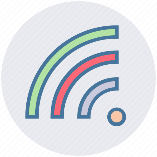 connection, signal, signals, technology, wifi, wireless icon