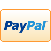 curved, donate, payment, paypal icon