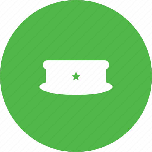 cap, hat, police, sheriff, uniform icon