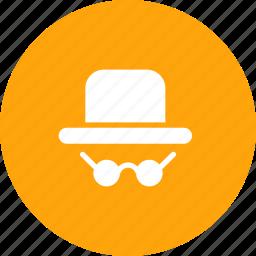 agent, crime, detective, detector, personal, scene icon