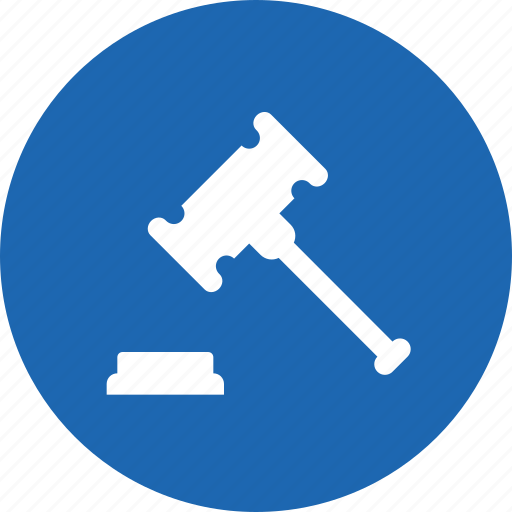 auction, building, deal, done, mallet, property, rent icon