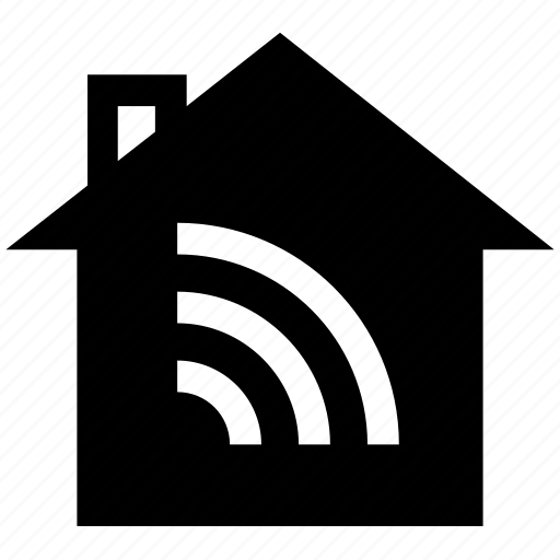 home, house signal, security, signal, wifi signal icon