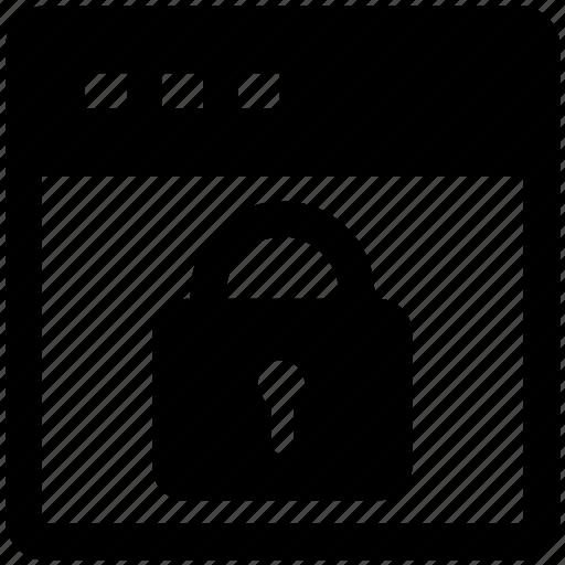 internet password, lock, web locked, web security, website icon