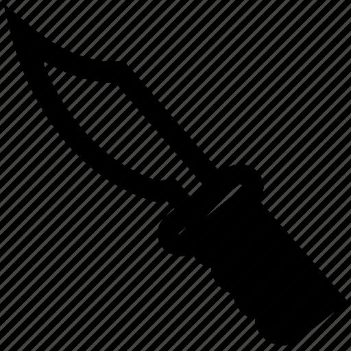 bandit, crime, evidence, killing, knife, law, police icon