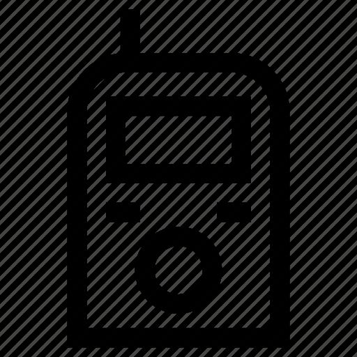 gadget, phone, talkie, wireless icon