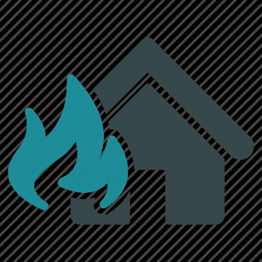 alarm, alert, burn, damage, fire, hazard, problem icon