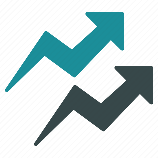 chart, diagram, graph, report, sale, statistic, trends icon