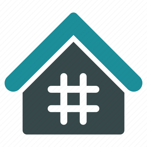 address, building, company, home, house, jail, office icon