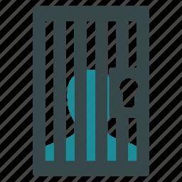 camera, jail, justice, police, prison, prisoner, thief icon
