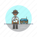 car, cop, crime, patrol, police, sheriff, vehicle icon