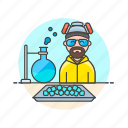 bad, breaking, crime, crystal, dealer, drug, heisenberg, meth icon