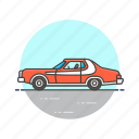 automobile, car, crime, police, transport, vehicle icon