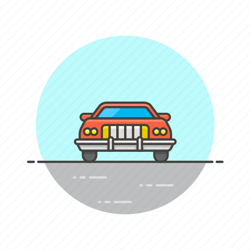 car, crime, patrol, police, security, transport, vehicle icon