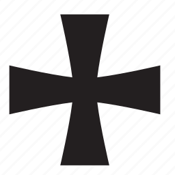addition, catholic, christian, cross, plus, religion, sign icon