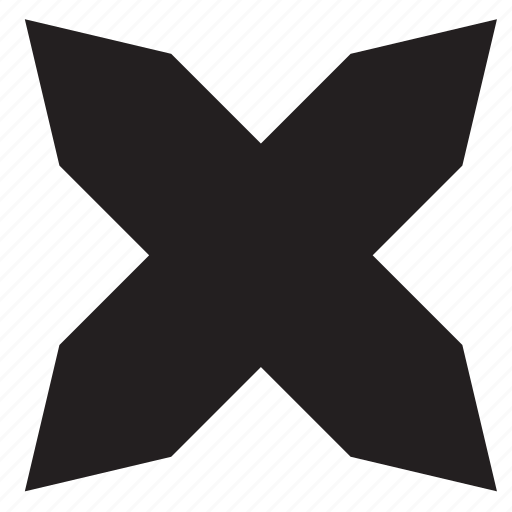 close, cross, delete, remove, sign, x icon