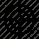 crosshair, focus, goal, target, shooting