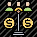 balance, crowd, equity, funding, money