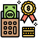budget, financial, forecast, money, reward icon