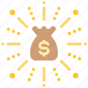 budget, capital, collaboration, money, venture icon